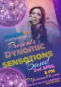 Dynamic Sensations April 2nd