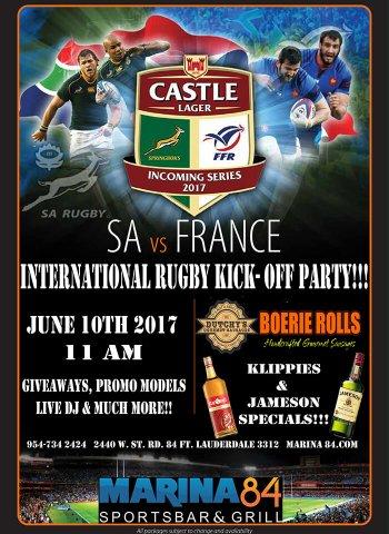 BH SA vs France 2017
