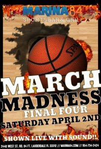 March Madness April 2nd