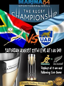 Rugby ChampionShip Aug 27th